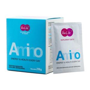 ViviLife Amino - suplement diety 8 aminokwasów 1 opakowanie oraz saszetka