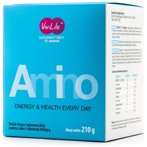 vivilife suplement diety amino aminokwasy 1 opakowanie
