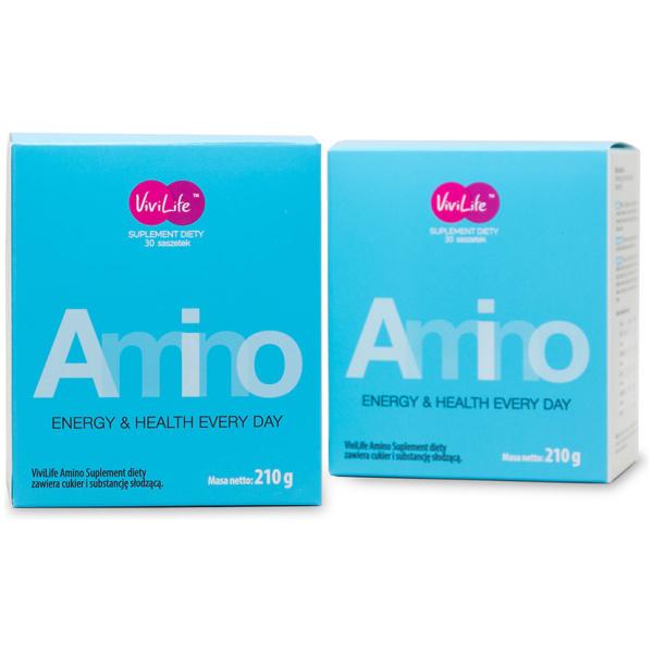 vivilife suplement diety amino aminokwasy 2 opakowania