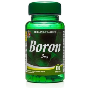 Holland & Barrett Bor 3 mg 100 Tabletek