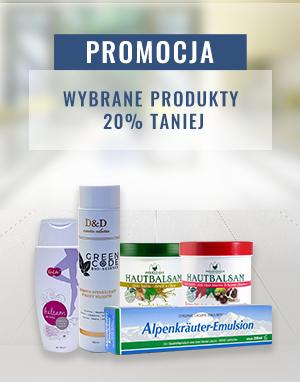 promocja 20% wybrane produkty